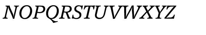 EF Accolade CE Light Italic Font UPPERCASE