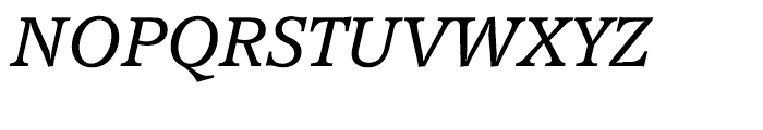 EF Accolade Light Italic Font UPPERCASE