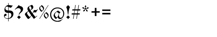 EF Alte Schwabacher Regular Font