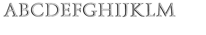 EF Augustea Open Regular Font LOWERCASE