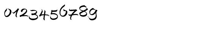EF Autograph Script Regular Alternate Font OTHER CHARS