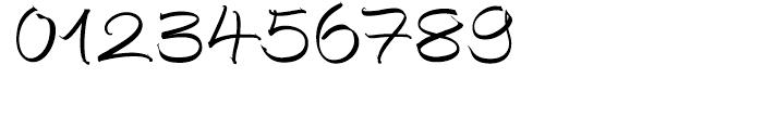 EF Autograph Script Regular Font OTHER CHARS