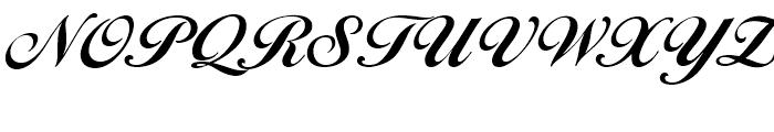 EF Ballantines Script Bold Font UPPERCASE