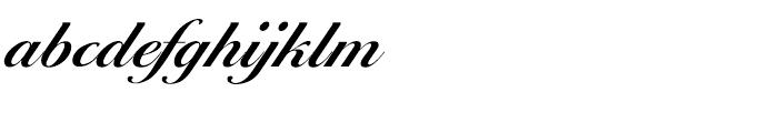 EF Ballantines Script CE Demi Bold Font LOWERCASE