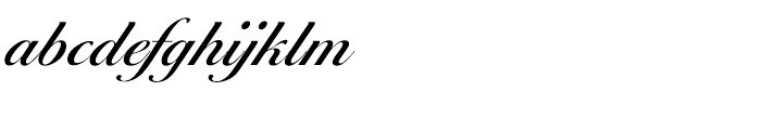 EF Ballantines Script CE Medium Font LOWERCASE