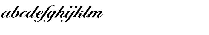EF Ballantines Script Demi Bold Font LOWERCASE