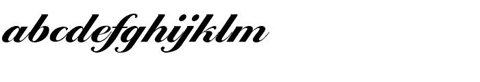 EF Ballantines Script Extra Bold Font LOWERCASE