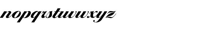 EF Ballantines Script Turkish Extra Bold Font LOWERCASE