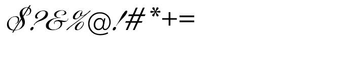 EF Ballantines Script Turkish Regular Font OTHER CHARS