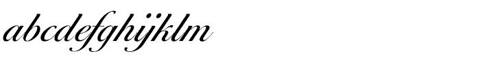 EF Ballantines Script Turkish Regular Font LOWERCASE