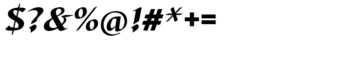 EF Barbedor Black Italic Font OTHER CHARS