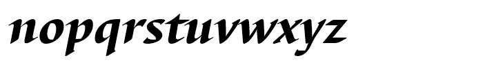 EF Barbedor Black Italic Font LOWERCASE