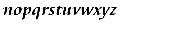 EF Barbedor Bold Italic Font LOWERCASE