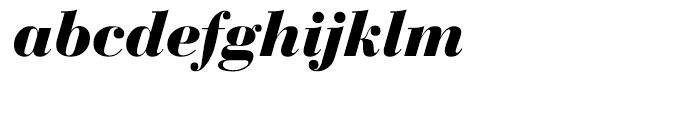 EF Bauer Bodoni Bold Italic Font LOWERCASE