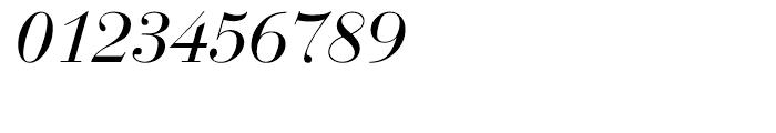 EF Bauer Bodoni CE Regular Italic Font OTHER CHARS