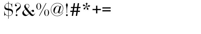 EF Bauer Bodoni CE Regular SC Font OTHER CHARS
