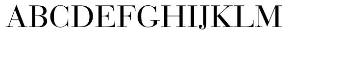 EF Bauer Bodoni CE Regular SC Font UPPERCASE