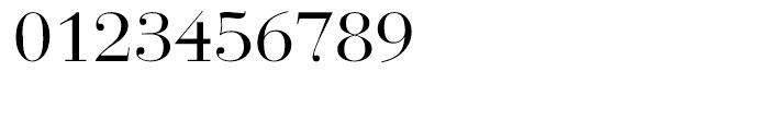 EF Bauer Bodoni CE Regular Font OTHER CHARS