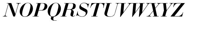 EF Bauer Bodoni Medium Italic Font UPPERCASE