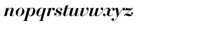 EF Bauer Bodoni Medium Italic Font LOWERCASE