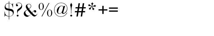 EF Bauer Bodoni Regular SC Font OTHER CHARS