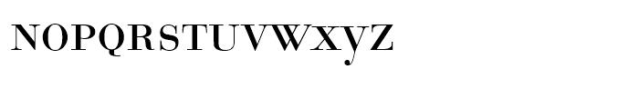EF Bauer Bodoni Regular SC Font LOWERCASE