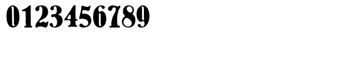 EF Bernhard Antique Regular Font OTHER CHARS