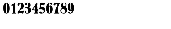 EF Bernhard Antique Turkish Regular Font OTHER CHARS