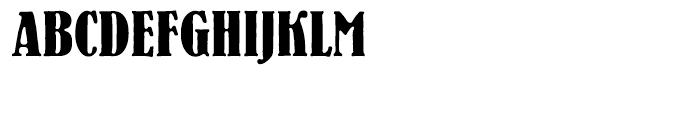 EF Bernhard Antique Turkish Regular Font UPPERCASE