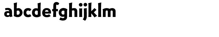 EF Bernhard Gothic Bold Font LOWERCASE