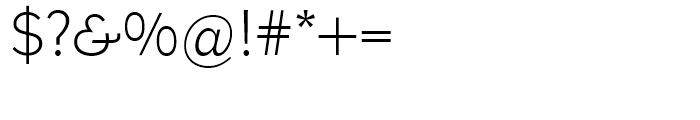EF Bernhard Gothic Regular Font OTHER CHARS