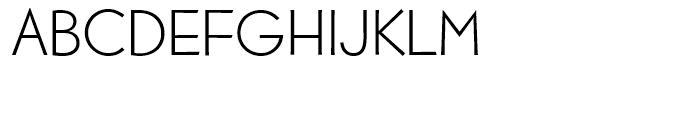 EF Bernhard Gothic Regular Font UPPERCASE