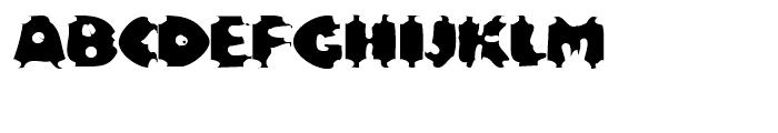 EF Bloxx Regular Font UPPERCASE