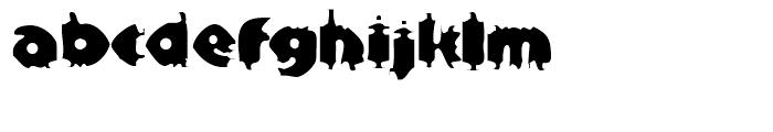 EF Bloxx Regular Font LOWERCASE