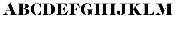 EF Caslon Graphique Regular Font UPPERCASE