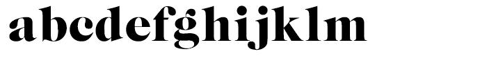 EF Caslon Graphique Regular Font LOWERCASE
