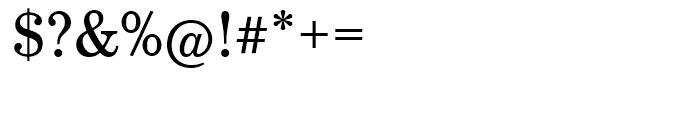 EF Century Schoolbook Regular Font OTHER CHARS