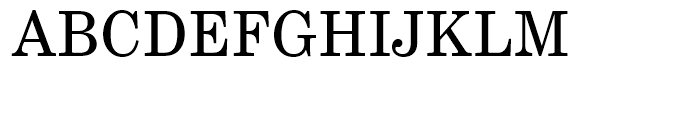 EF Century Schoolbook Regular Font UPPERCASE