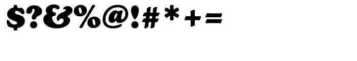 EF Cooper Black CE Bold Font OTHER CHARS
