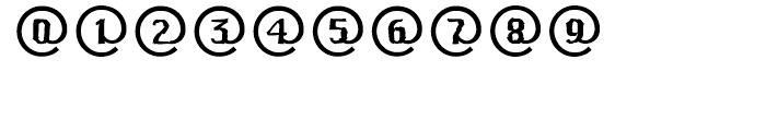EF CrashMail Regular Font OTHER CHARS