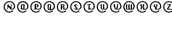 EF CrashMail Regular Font UPPERCASE