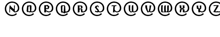 EF CrashMail Regular Font LOWERCASE