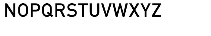EF DIN 1451 Mittel Alt Font UPPERCASE