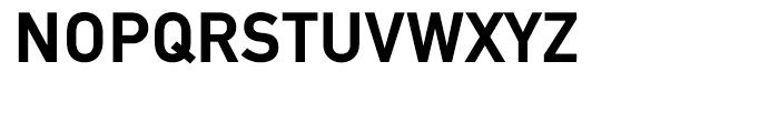 EF DIN Mittel Bold Font UPPERCASE