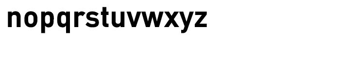 EF DIN Mittel Bold Font LOWERCASE