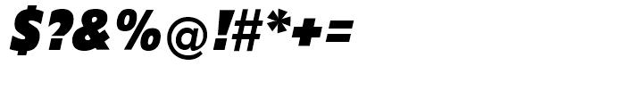 EF Diamanti Condensed Black Italic Font OTHER CHARS