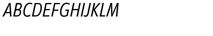 EF Diamanti Condensed Thin Italic Font UPPERCASE