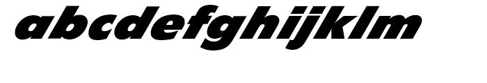 EF Diamanti Diagonal Black Font LOWERCASE