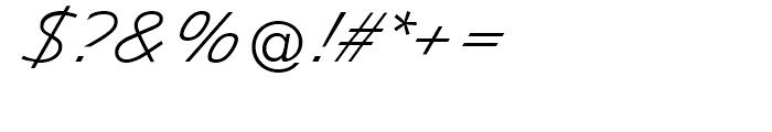 EF Diamanti Diagonal Thin Font OTHER CHARS
