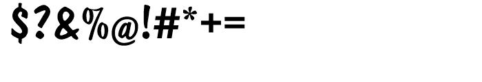 EF Dom Casual Regular Font OTHER CHARS